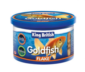 King British Goldfish Flakes