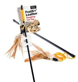 Feath 'r' Leather Dangler