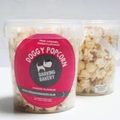 Dog popcorn tub