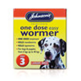 Johnson's Wormer Size 3