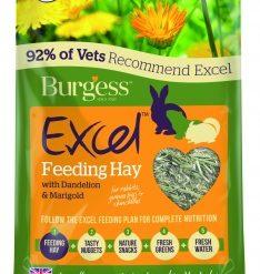 Excel Dandelion & Marigold Feeding Hay 1kg
